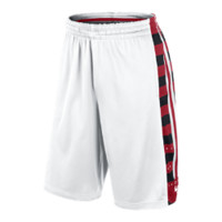 Nike Elite Fanatical Men's Basketball Shorts - White