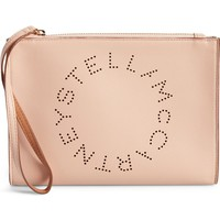 Stella McCartney Alter Faux Nappa Leather Wristlet Clutch | Nordstrom