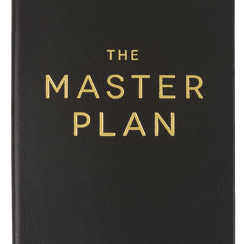 "The Master Plan 6x8"" Journal"