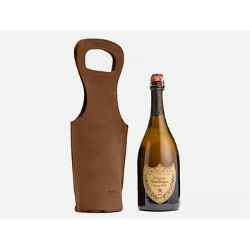 No. 520 Leather Wine Tote