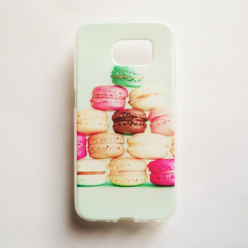 Samsung Galaxy S6 Dessert Case Soft Plastic Galaxy S6 Back Dessert Cute Samsung S6 Cover Food