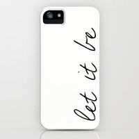 Let It Be, The Beatles iPhone Case by gabsnisen | Society6
