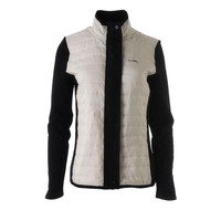 Lauren Active Womens French Terry Quilted Front Athletic Jacket