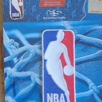 NBA Patch NBA League Logo Official Licensed Sew or Iron On
