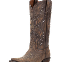 Women's Addie Butterfly Boot - Vintage Saddle