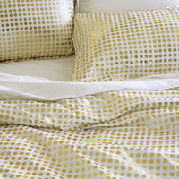 Metallic Dot Duvet Set