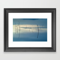 Blue dreams Framed Art Print by Guido Montañés