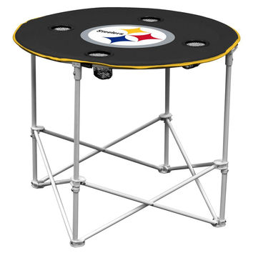 Pittsburgh Steelers NFL Portable Round Table