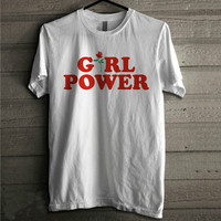 Girl Power Tshirt, Feminism Tee Girl Power Shirt 100% Unisex Cotton T shirt-in T-Shirts from Women's Clothing & Accessories on Aliexpress.com | Alibaba Group