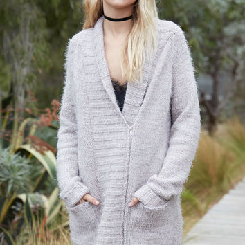 MinkPink Now and Then Chunky Sweater Coat at PacSun.com