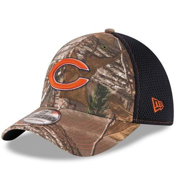 Chicago Bears Adult RealTree Camo Neo 39Thirty Stretch Fit Hat