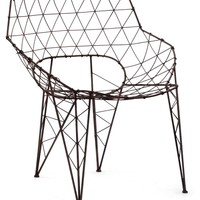 Zuo Modern Wired Speed Lounge Chair - Rustic Black | www.hayneedle.com