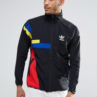 adidas Originals Block Track Jacket AY9289 at asos.com