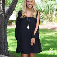 Grecian Princess Dress - Black