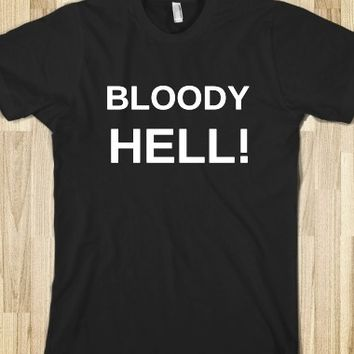 Supermarket: Bloody Hell T-Shirt from Glamfoxx Shirts