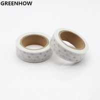 GREENHOW Merry Christmas Motif Washi Tape Adhesive Tape Masking Tape 8036