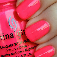 China Glaze Nail Polish Lacquer (80945-Pool Party) Poolside
