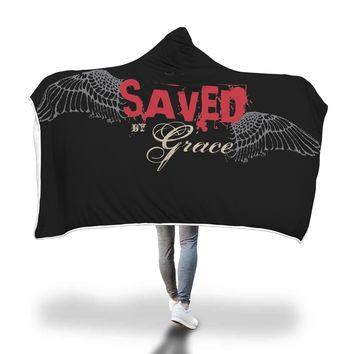 Saved by Grace Hooded Blanket