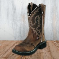 Justin Ladies' Bark Round Toe Gypsy Boots - Justin - Shop by Brand