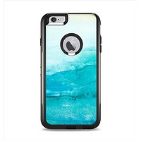 The Grungy Blue Watercolor Surface Apple iPhone 6 Plus Otterbox Commuter Case Skin Set