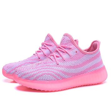 Fashion Adidas Yeezy Boost 550 Leisure Sports shoes
