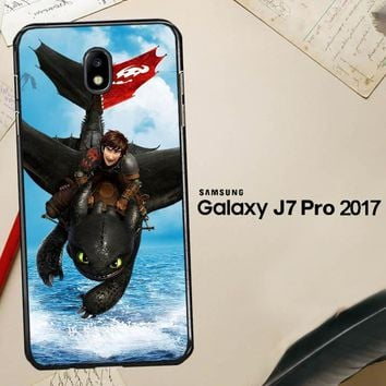 Toothless How To Train Your Dragon Y0783 Samsung Galaxy J7 Pro SM J730 Case