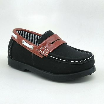Toddler's Black Casual Shoe