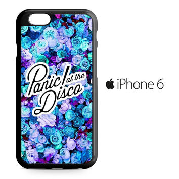 Panic At The Disco Flower iPhone 6 Case