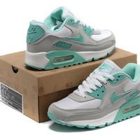 Nike Air Max 90 Women Sport Casual Multicolor Air Cushion Sneakers Running Shoes-5