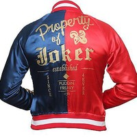 Suicide Squad Property of Joker Harley Quinn Costume Jacket - Best Deal