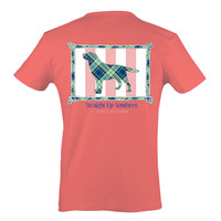 Its a girl Thing Southern Collection Prep Dog Bright T Shirt