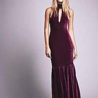 Anamaria Couture Womens Veuve Velvet Dress