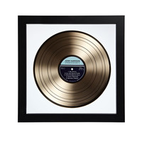 PERSONALIZED GOLD LP RECORD | Gold Personalized LP Record | UncommonGoods