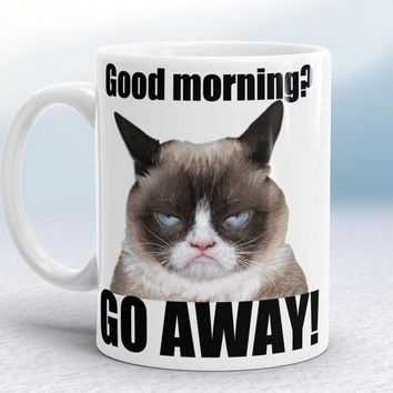 Grumpy cat mugs coffee mug