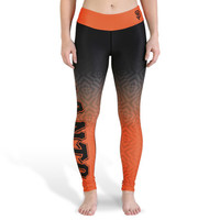 San Francisco Giants Womens Gradient Official MLB Print Leggings