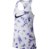 Nike Women's Marble Wash Swoosh Tank Top