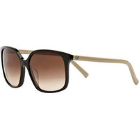 Black fendi logo sunglasses - branded sunglasses - sunglasses - women
