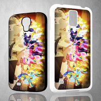 my little pony fruit hair hat V0148 Samsung Galaxy S3 S4 S5 (Mini), Note 2 3 4, HTC One S X M7 M8  Cases