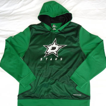 Dallas Stars Majestic ThermaBase Performance Pullover Hooded Sweatshirt Size L