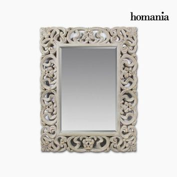 Mirror Synthetic resin Bevelled glass (130 x 5 x 100 cm) by Homania