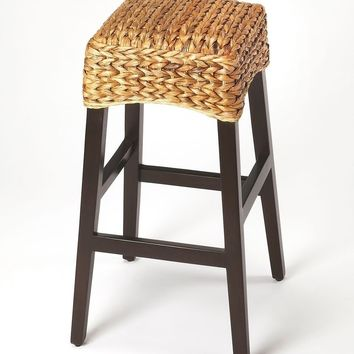 Butler Republic Rattan Bar Stool