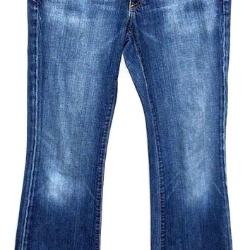 Adriano Goldschmied AG The Club Flare Jeans Stretch Women 27R Actual 28 x 29.5 - Preowned