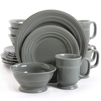 Gibson Barberware 16 Piece Dinnerware Set