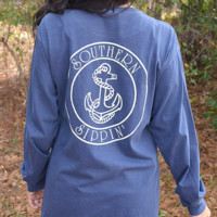RESTOCK: Southern Sippin' Anchor: Navy