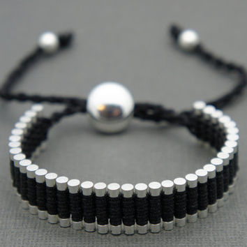 Link Friendship Bracelet - Black (One Direction) - Valentine's Day Special