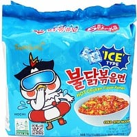 Samyang Spicy Chicken Cold Stir Ramen 5- 5.3 oz. packs (151g)