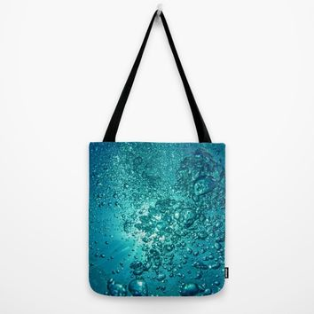 Under Water Tote Bag by Oksana Smith