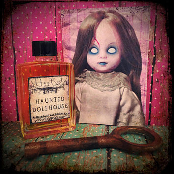 HAUNTED DOLLHOUSE-(Cocoa, Lavender, Tangerine, Moss, Allspice, Black Cherry, Bay Laurel, Amber)Hand Blended Perfume, Anointing Oil