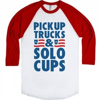 Pickup Trucks and Solo Cups