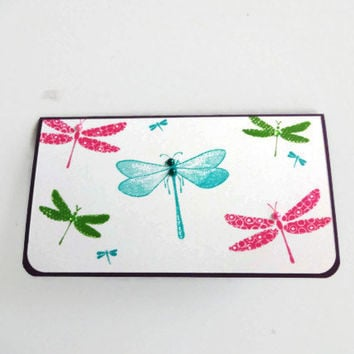 Dragonflies Checkbook Cover Dragonfly Checkbook Cover Mothers Day